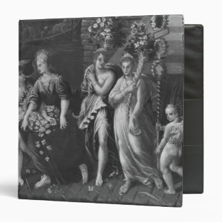 Triumph of Spring 3 Ring Binder