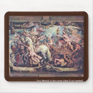 Triumph Of The Church Of Idolatry By Rubens Peter Mouse Pad