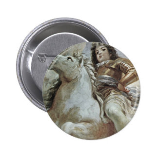 Triumph Of The Medici In The Clouds Of Mount Olymp Pinback Button