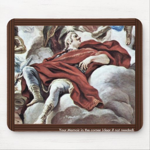 Triumph Of The Medici In The Clouds Of Mount Olymp Mouse Pad