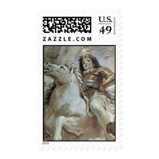 Triumph Of The Medici In The Clouds Of Mount Olymp Postage Stamp