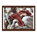 Triumph Of The Medici In The Clouds Of Mount Olymp Post Card