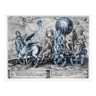 Triumph of the World by Maerten van Heemskerck Postcard