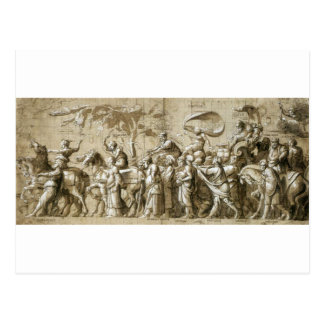 Triumph of Wealth by Hans Holbein the Younger Postcard