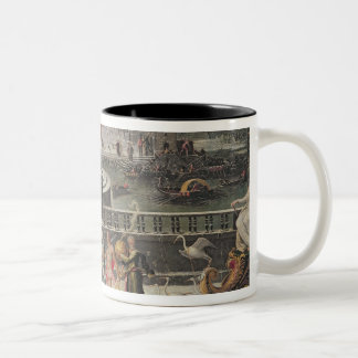 Triumph of Winter Two-Tone Coffee Mug
