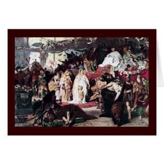 Triumph romano tarjeta de felicitación