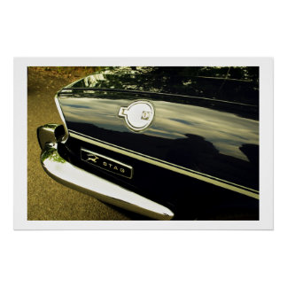 Triumph Stag Abstract Poster