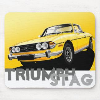 Triumph Stag Mouse Mat