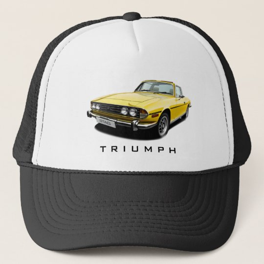 Triumph Stag - Yellow Trucker Hat