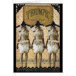 ¡Triumph! Tarjeta de felicitación