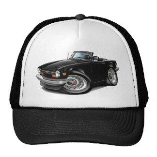 Triumph TR6 Black Car Trucker Hat
