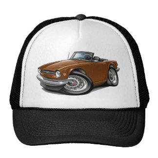 Triumph TR6 Brown Car Trucker Hat