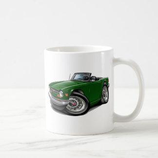Triumph TR6 Green Car Coffee Mug