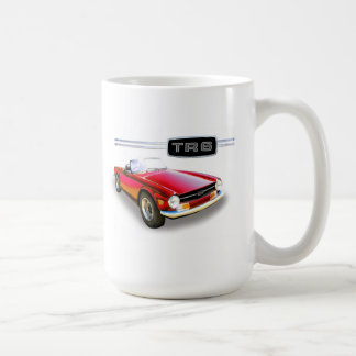 Triumph TR6 painting Coffee Mug