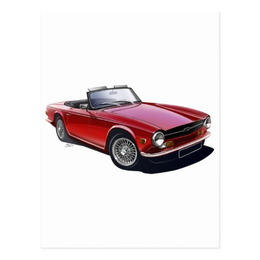Triumph TR6 Post Cards