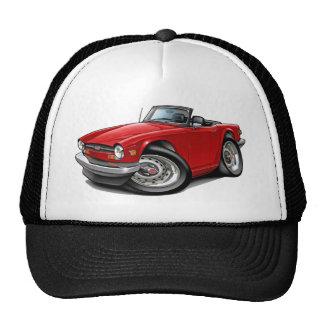 Triumph TR6 Red Car Trucker Hat