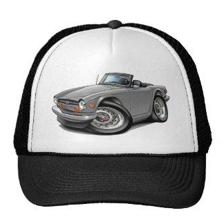 Triumph TR6 Silver Car Trucker Hat