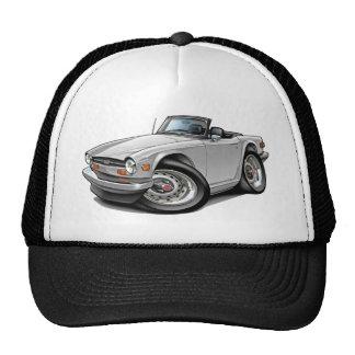 Triumph TR6 White Car Trucker Hat