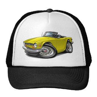 Triumph TR6 Yellow Car Trucker Hat