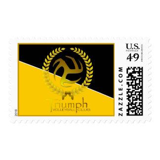 Triumph Volleyball Stamps