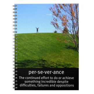 Triumph y perseverencia libretas