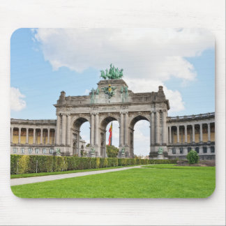 Triumphal Arch in Cinquantenaire Park in Brussels Mouse Pad
