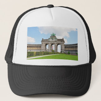 Triumphal Arch in Cinquantenaire Park in Brussels Trucker Hat