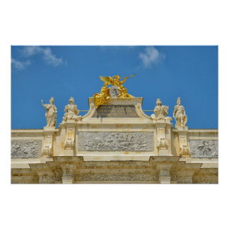 Triumphal Arch in Nancy Poster
