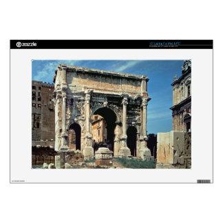 Triumphal Arch of Septimius Severus, dedicated in Laptop Skin
