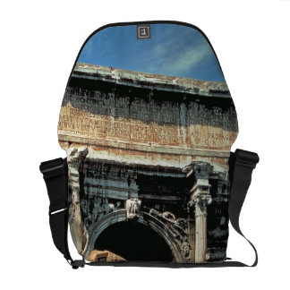 Triumphal Arch of Septimius Severus, dedicated in Messenger Bag