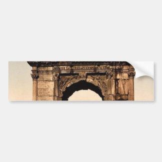 Triumphal Arch of Titus Rome Italy classic Photo Bumper Sticker