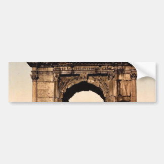 Triumphal Arch of Titus Rome Italy classic Photo Bumper Stickers