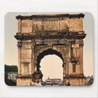 Triumphal Arch of Titus, Rome, Italy classic Photo Mouse Pad