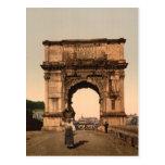 Triumphal Arch of Titus,Rome, Lazio Italy Postcards