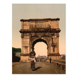 Triumphal Arch of Titus,Rome, Lazio Italy Postcard