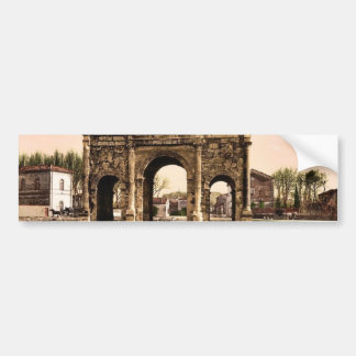Triumphal arch Orange Provence France classic P Bumper Stickers