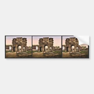 Triumphal arch Orange Provence France classic P Bumper Sticker