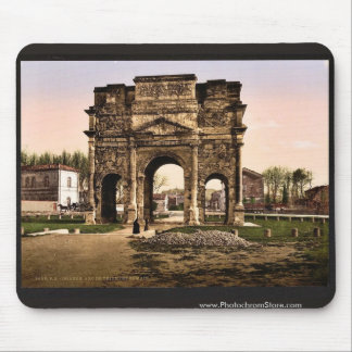 Triumphal arch, Orange, Provence, France classic P Mouse Pad