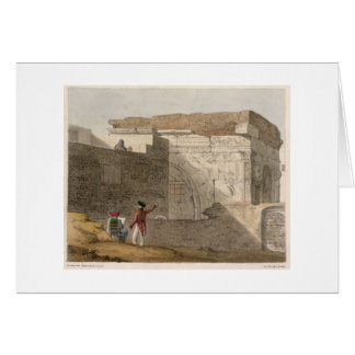 Triumphal Arch, Tripoli, plate 4 from 'A Narrative Card