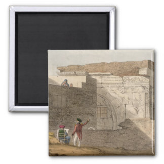 Triumphal Arch, Tripoli, plate 4 from 'A Narrative Magnet