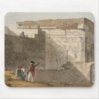 Triumphal Arch, Tripoli, plate 4 from 'A Narrative Mouse Pad