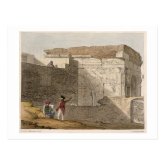 Triumphal Arch, Tripoli, plate 4 from 'A Narrative Postcard