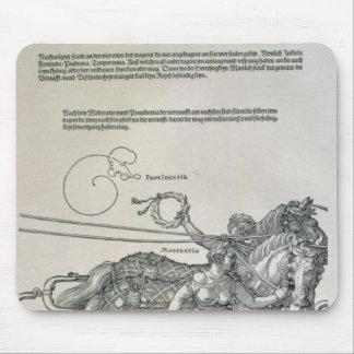 Triumphal Chariot of Emperor Maximilian I Mouse Pad