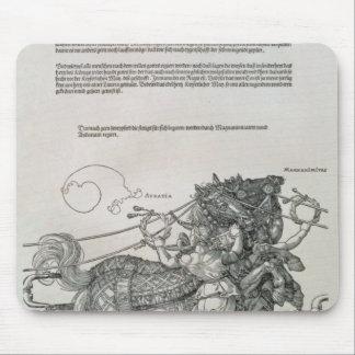 Triumphal Chariot of Emperor Maximilian I Mousepads