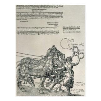 Triumphal Chariot of Emperor Maximilian I Postcard
