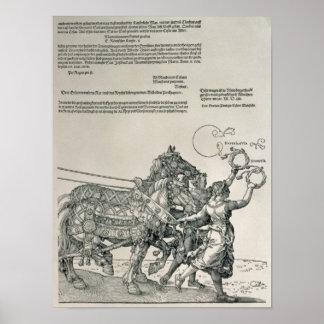Triumphal Chariot of Emperor Maximilian I Poster