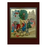 Triumphal Entry into Jerusalem Prayer Card Postcards