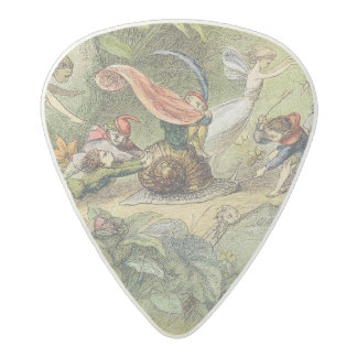 Triumphal March of the Elf-King, illustration from Acetal Guitar Pick