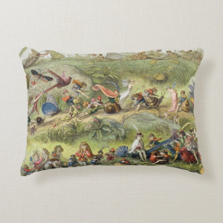 Triumphal March of the Elf-King, illustration from Accent Pillow