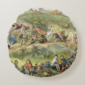 Triumphal March of the Elf-King, illustration from Round Pillow
